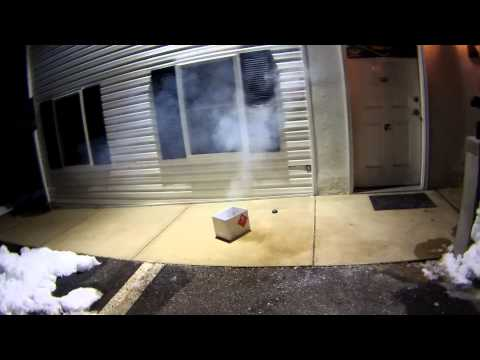 TLSFx Pull Ring / Pea Grenade Test @ East Coast Airsoft