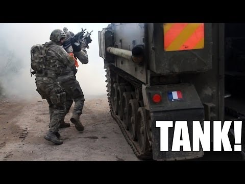 Outflank - Airsoft movie with FV 432 Armored Personnel Carrier