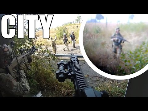 AIRSOFT | WAR | TBC | THE CITY - SCOPE CAM & DRONE ( ENGLISH SUBS )