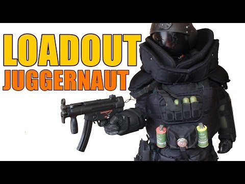 AIRSOFT | LOADOUT | JUGGERNAUT - SEPHIROTH60 LE MASTODONTE ( ENGLISH SUBS )