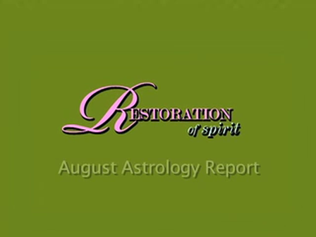 August Astrology Report