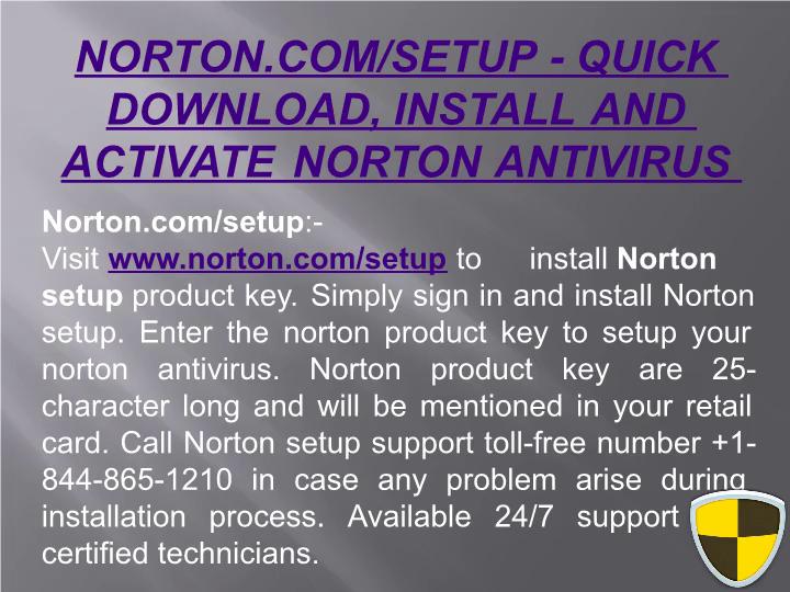 Free norton antivirus setup | norton.com/setup