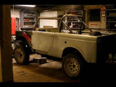 International Harvester Scout 800 Transformation