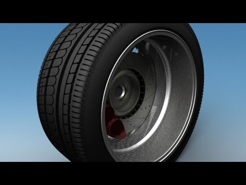 Modeling an Automotive Tire