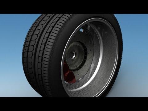 Modeling an Automotive Tire