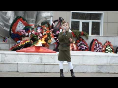 """песня """"Катюша"""" Ульяна Патшина"""