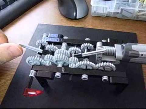Lego Technic 4 Speed Gear Change Transmission
