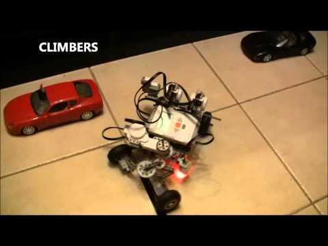 Lego nxt auto parking robot