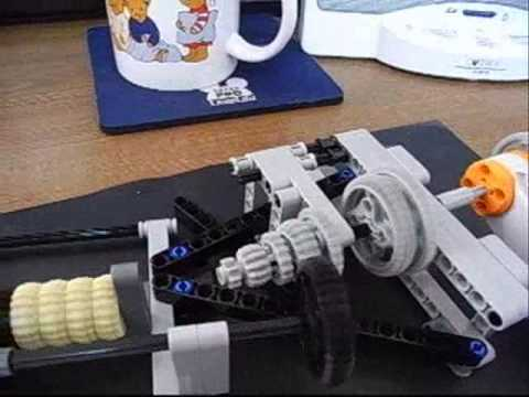 Lego NXT mindstorms 7 Speed Gear Change Transmission
