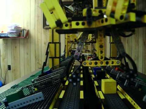 Four Lego Delta Robots
