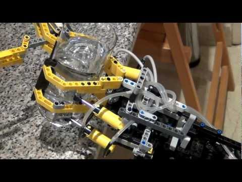Lego Mindstorms NXT Robotic Arm with PF