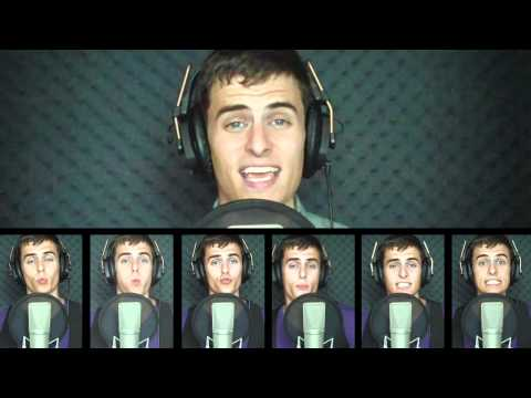 Teenage Dream & Just the way you are- All done by mouth sounds by Mike Tompkins