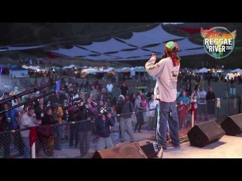 RAS INDIO - LIVE @ Reggae on the River 2013