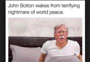 Bolton world peace