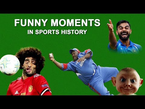 Most Funny Moments in Sports History | Funny Cricket Moments