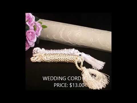 Best Wedding Cord, Pillows, Veil at BarongsRus
