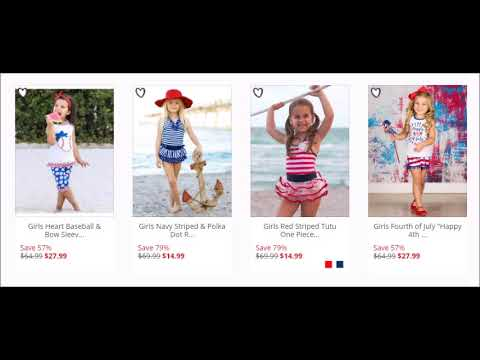 Best Offer On Mia Belle Baby for 4th of July