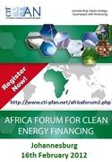 CTI PFAN Africa Forum for Clean Energy Financing