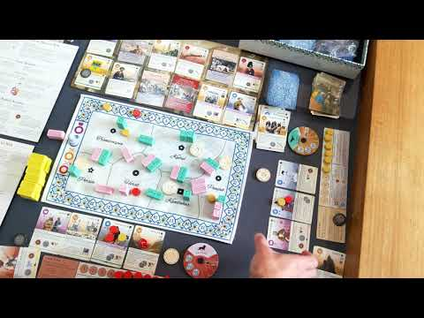 Pax Pamir [Second Edition, 2019] - Gameplay overview and review
