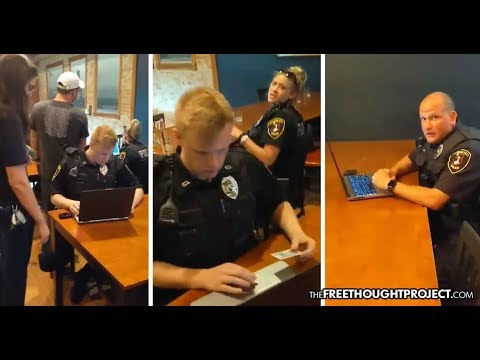 Cops Detain Entire Bar, Seal Off All Exits, Force EVERYONE to Submit to Record Check