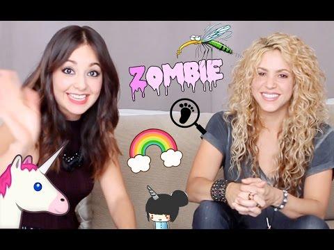 Caeli le pregunta a Shakira lo nunca antes preguntado