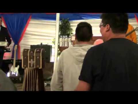 Mistissini Campmeeting 2014   clip of altar service