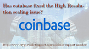 Unable to receive the coin in Coinbase