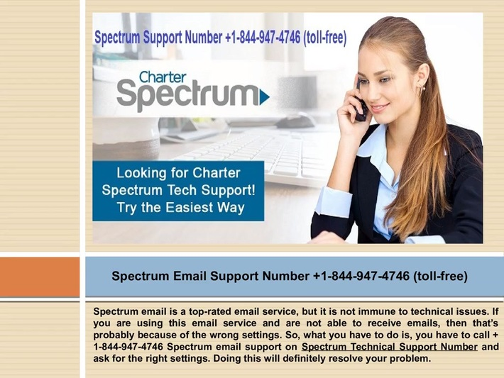 Seek help related to various Spectrum email issues? Call +1-844-947-4746 Spectrum Tech Support Number