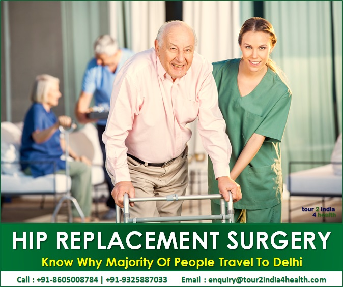 Why Majority Of People Travel To Delhi for Hip Replacement Surgery?
