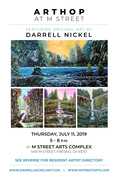 Arthop at M Street Arts Complex - Featuring Darrell Nickel