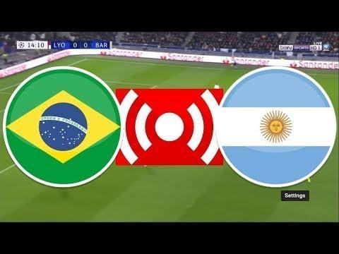 Brazil vs Argentina Live Stream 02/07/2019 LIVE Copa America 2019 EN VIVO