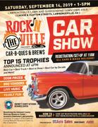 Rock'n the Ville Car-B-Ques and Brews Car Show