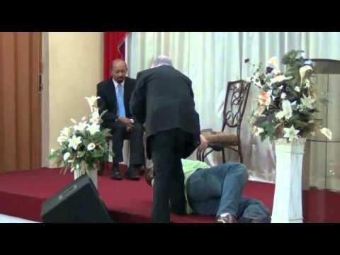 Deliverance Tabernacle Ministry, Claxton Bay, Trinidad - Pastor Arjoon