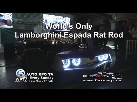 WORLD'S ONLY LAMBORGHINI ESPADA RAT ROD