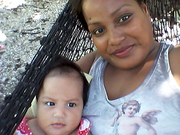 My lovely one and daughter Terira