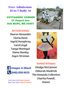 1st Historic Doll Show On Martha's Vineyard 2019 Flyer Front