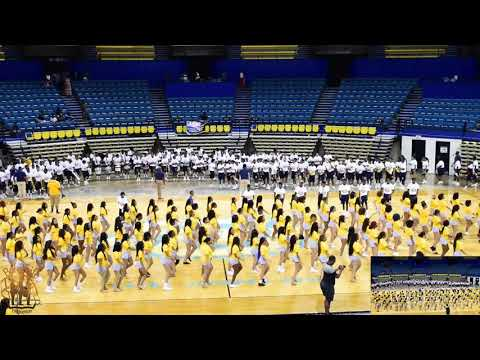 2019 Southern University High School Band Camp Marching In