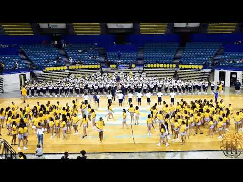 "Southern University High School Band Camp ""Warm Up Selection #1""2019"