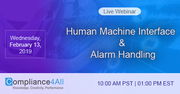 Human Machine Interface and Alarm Handling 2019
