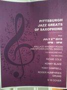 Pittsburgh Jazz Greats of Saxophone