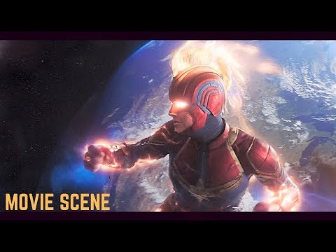 Captain Marvel Final Battle Scene 1080p