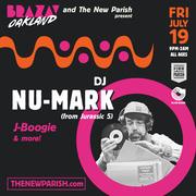 DJ Nu-Mark from Jurassic 5   BRAZA Oakland