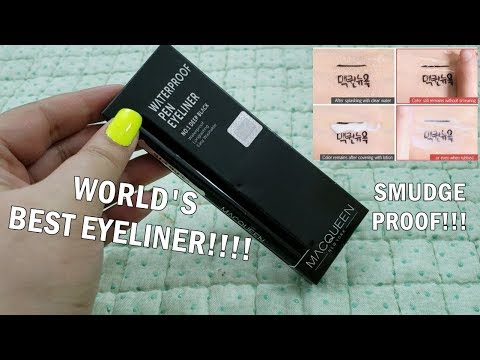MACQUEEN Waterproof Pen Eyeliner | KBeauty
