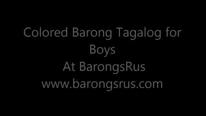 Buy Best Colored Barong Tagalog for Boys at BarongsRus