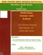 New Haven Area Senior Network