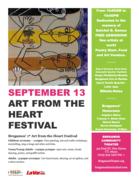 """Bregamos' 1st """"Art From The Heart Festival"""""""