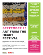 "Bregamos' 1st ""Art From The Heart Festival"""