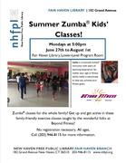 Summer Zumba® Kids' Classes at the Fair Haven Library