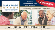 Mary Wade Adult Day Center Open House