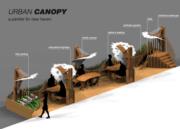 Urban Canopy Parklet Construction